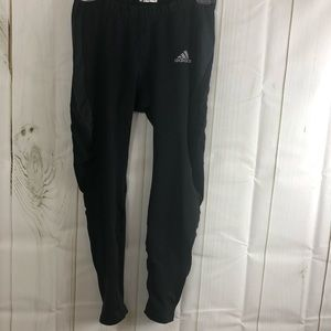 Adidas capris work out pants black Sz small